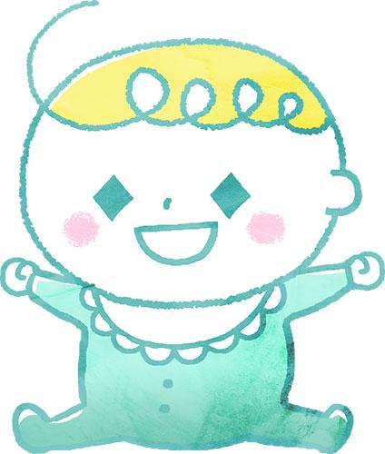 男の子の赤ちゃん