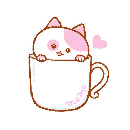 猫入りマグカップ