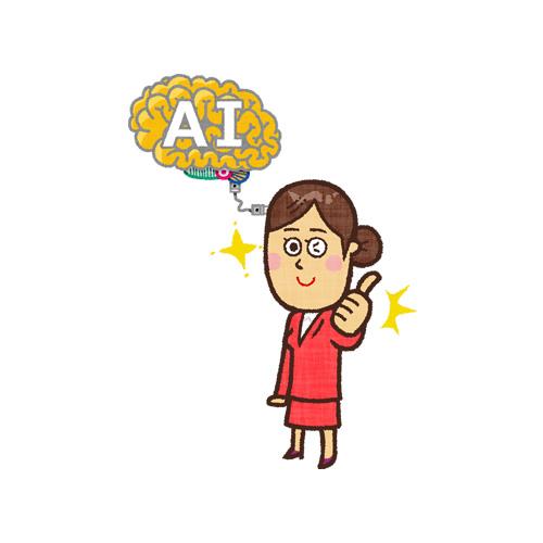 脳にマイクロチップ(人工知能)を埋め込んだ女性(くるかもしれない未来)