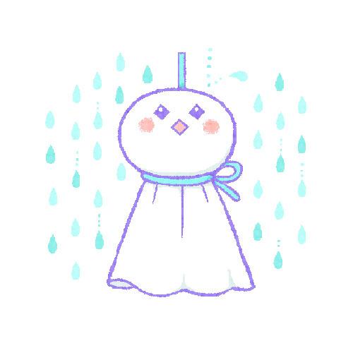 てるてるぼうず(雨降り2)